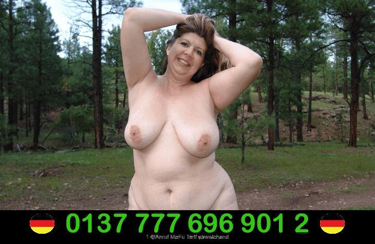 Dicke Frauen mit triefend nasse Muschis live am Telefon